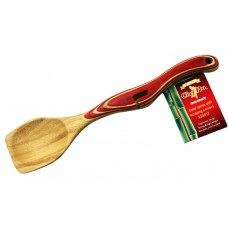 Chef Pro Green Solid Scraping Spoon SSS412