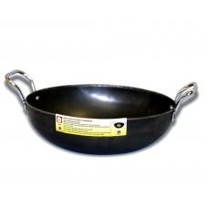 """Eris 7.5"""" Iron Kadai Deep Fry Pan"""